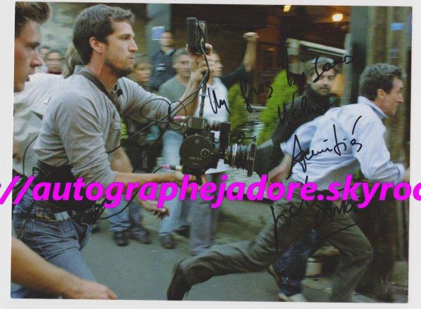 autographe de Guillaume Canet