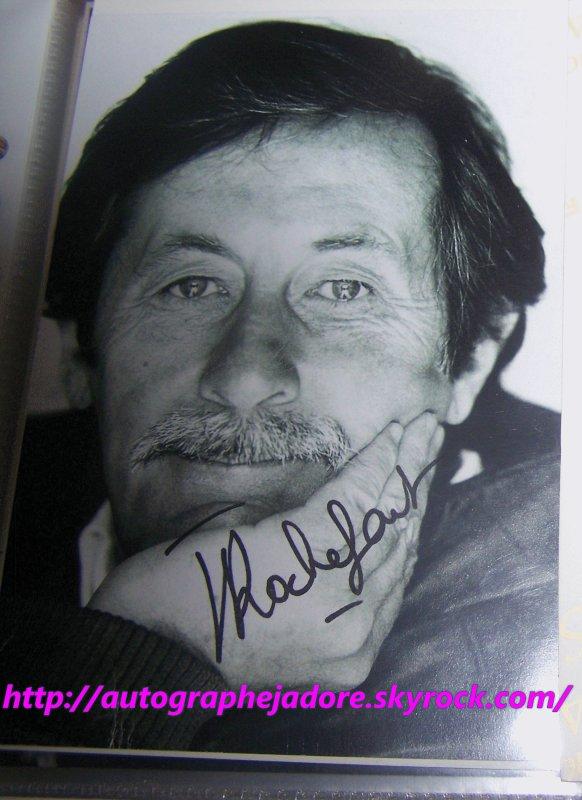 autographe de Jean Rochefort