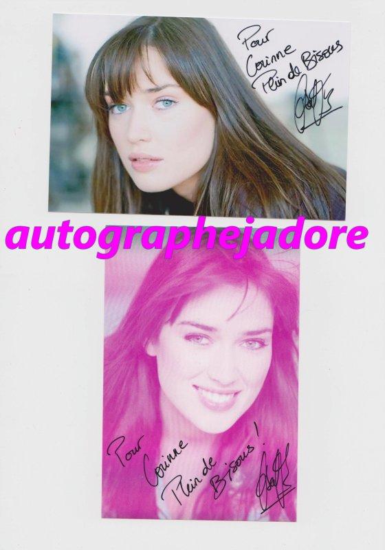 autographe Elsa Esnoult