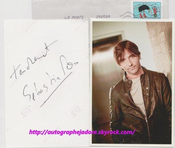 autographe de  Sébastien Roch - Christian