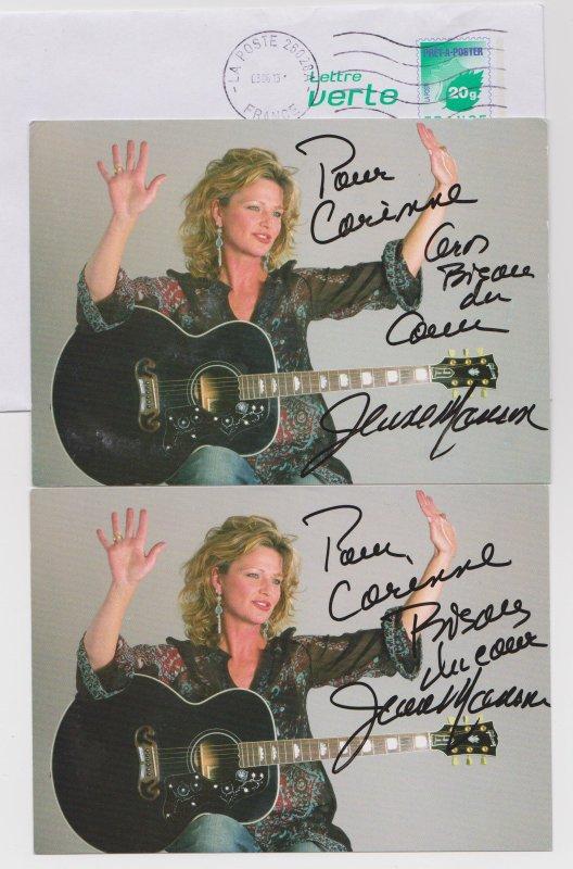 autographe de Jeane Manson