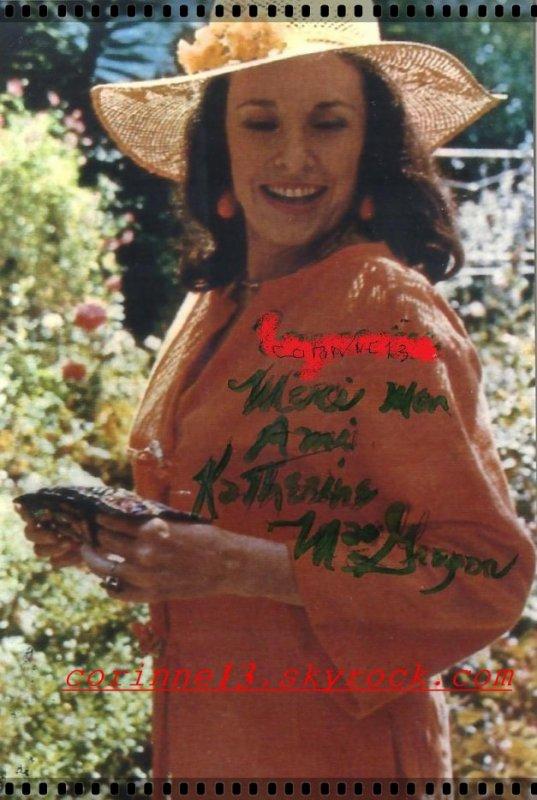 autographe Katherine MacGregor -Harriet Oleson