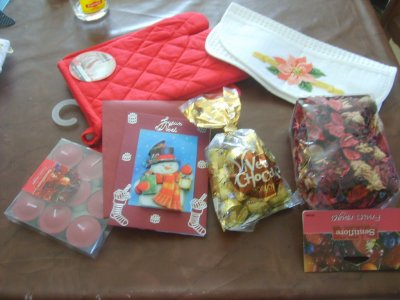 Echange Noël organisé par Chouchoute