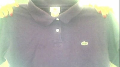 Polo lacoste femme taille 38/40 violet :)