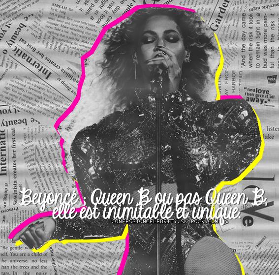 Quatrième Confession : Beyoncé