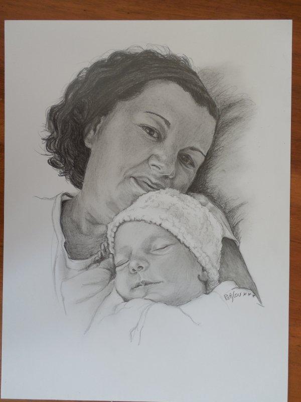 Maman et Bébé Malo