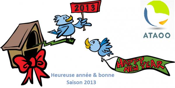 Heureuse année & bonne saison 2013