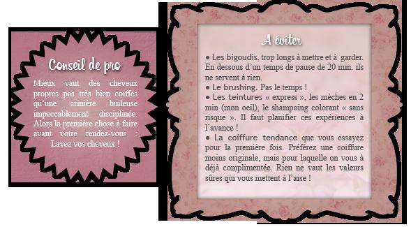 SOS BEAUTE : Coiffure