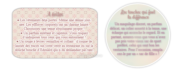 SOS BEAUTE : Fringues