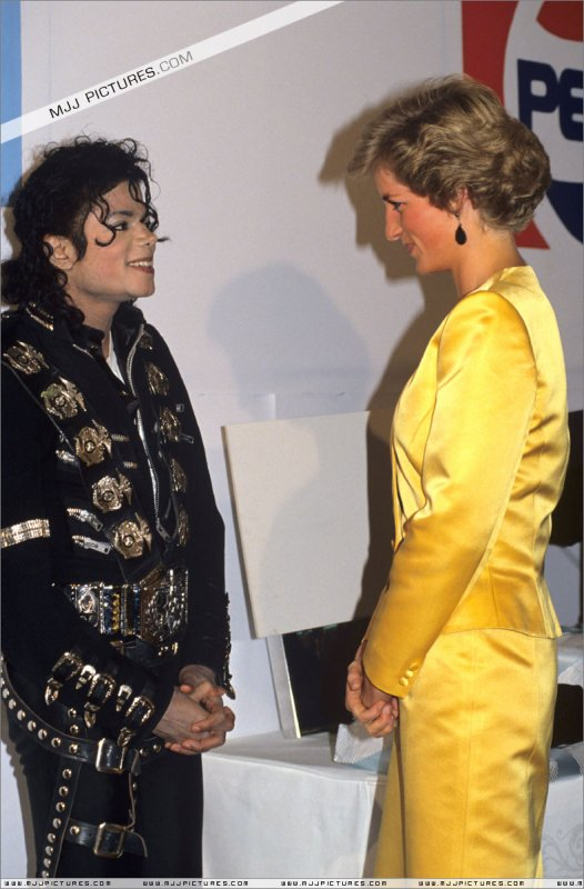 Meeting Princess Diana & Prince Charles-1988