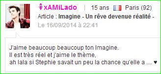 Imagine  -  Un rêve devenue réalité  -