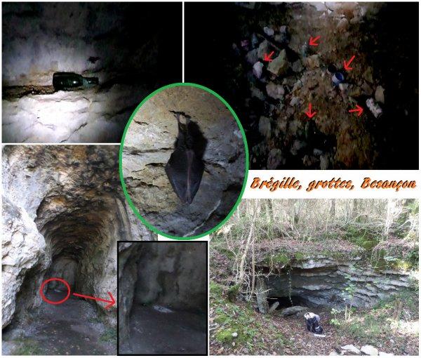 Autour de Besançon, les grottes servent de poubelles !