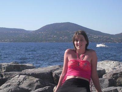 moi au bord de la mer