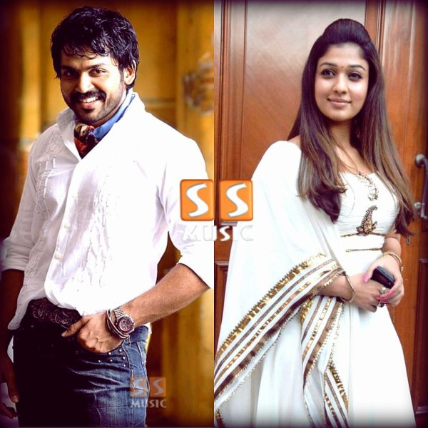 Karthi will be seen opposite actress Nayantara in Kashmora