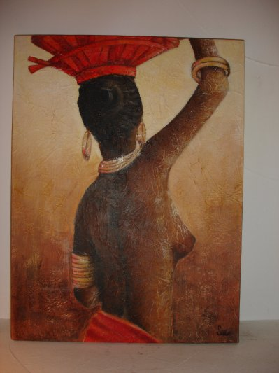 Femme De Dos Tableaux De Stef