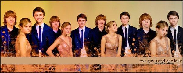 """- Les acteurs dans """"Harry Potter"""" -"""