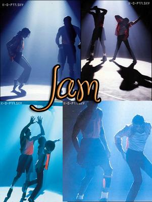 Voici quelques photos provenant du clip Jam,le clip est sorti et apparu en France en exclusivité sur un documentaire de France 2 présenté à époque par Nagui,Michael invite Michael Jordan,car Jam référence au basket ,basket des rues (voir le clip),Michael Jackson donne une sorte de défie a Michael Jordan,Michael Jackson lui dit tu apprend a joué au basket et je apprend a danser (d'ailleurs on peut voir sur les photos,que Michael Jackson apprend à danser a Michael Jordan puis Michael Jordan apprend a Michael Jackson a joué au basket,le clip est très regardé,Jam est la 1ère chanson extrait de album Dangerous qui est d'ailleurs sorti le 26 Novembre 1991.Voici quelque photos du clip Jam.
