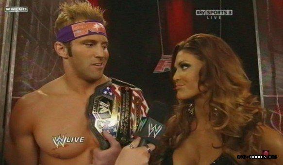 Zack Ryder VS Jack Swagger - US championship match