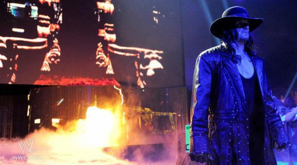 Undertaker is back