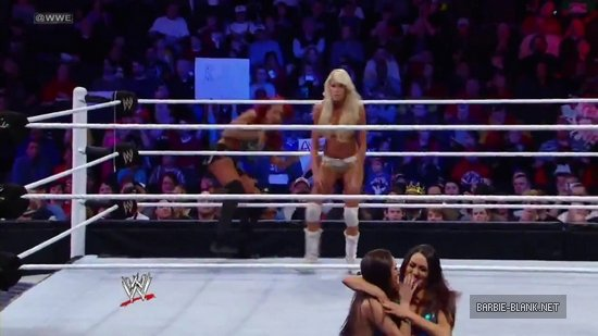 Kelly Kelly & Alicia Fox