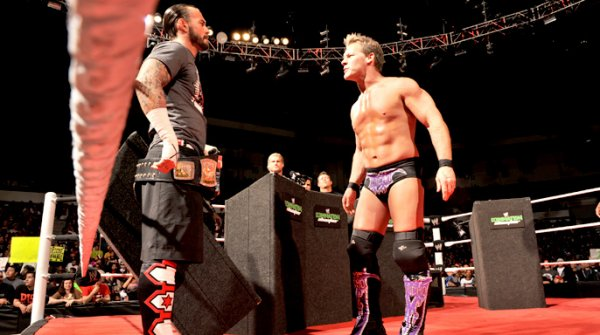 CM Punk vs The miz
