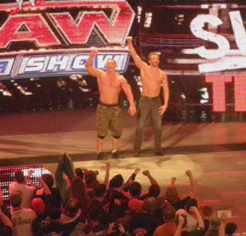 Zack Ryder & John Cena