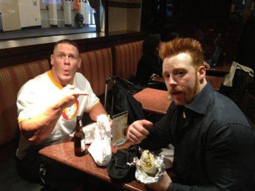 John Cena & Sheamus