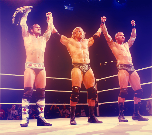 CM Punk, Randy Orton & Triple H VS Dolph Ziggler, Cody Rhodes & Chris Jericho (2)