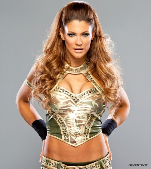 Eve Torres & Kelly Kelly (new photoshoot)