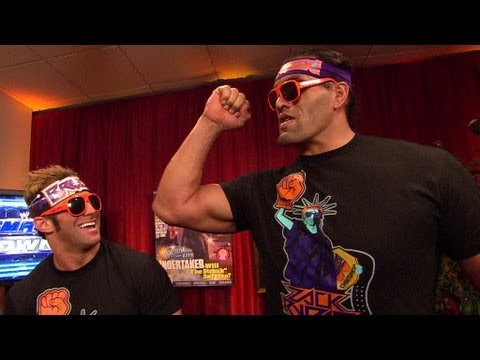 The Great Khali en Zack Ryder
