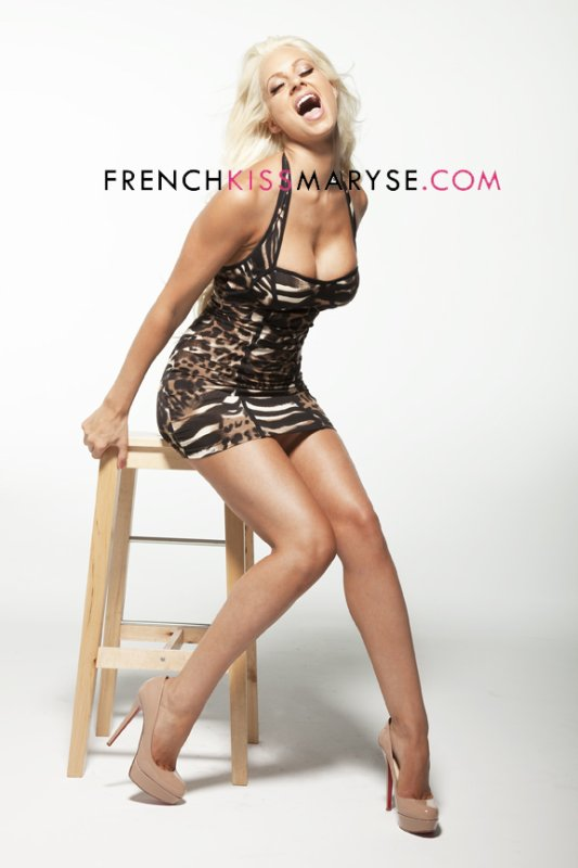 New photoshoot pour Maryse Ouellet
