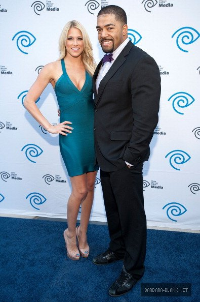 Kelly Kelly & David Otunga