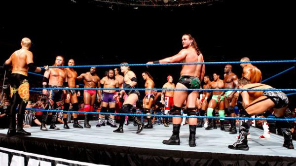 Overt the Limit Pré-show : Battle Royal / Christian Winner