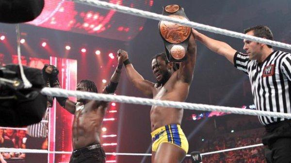Kofi & R-truth VS DOlph Ziggler et jack Swagger