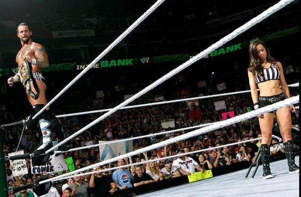 Resultats MITB: CM Punk bat Daniel Bryan