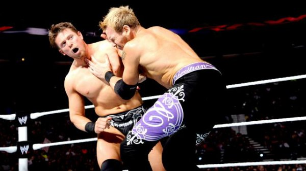 1000éme de Raw: Christian contre The Miz (miz nouveaux champion intercontinental)