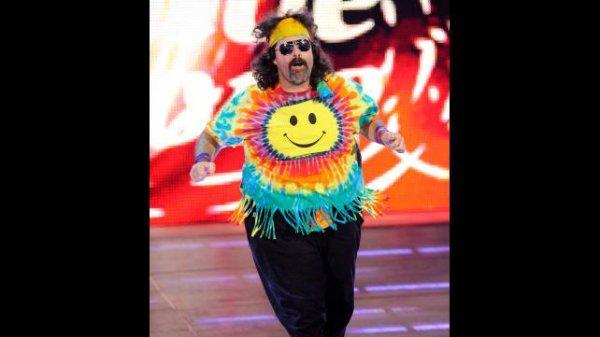 1000éme de Raw: Brodus Clay contre Jack swagger (mick foley retour)