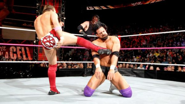 Résultats Hell in a Cell 2012: TEAM RHODES SCHOLARS bat TEAM HELL NO
