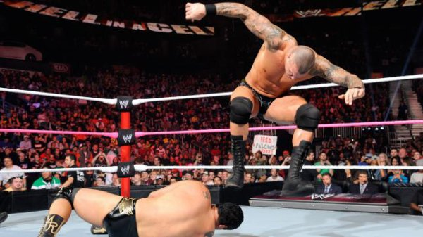 Résultats Hell in a Cell 2012: Randy Orton VS Alberto Del Rio