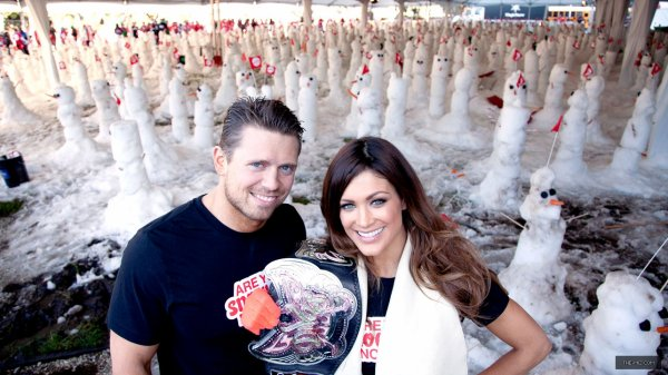 Eve Torres & The Miz