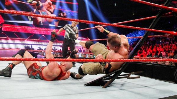 Extreme Rules 2013: John Cena vs Ryback :NO CONTEST:
