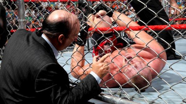 Extreme Rules 2013: Brock Lesnar bat Triple H