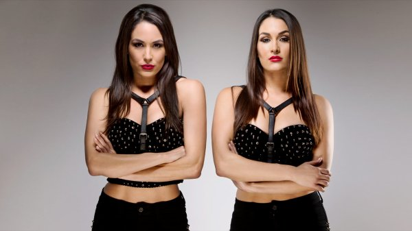Photoshoot des Bella Twins
