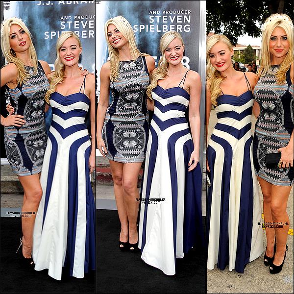 """#~ Aly était à l'avant-première de """"Super 8"""", film dont sa soeur participe , à Los Angeles , le 08/06/11.#"""