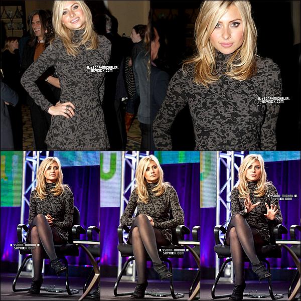 #FlashBack //Aly a participé à la CW Winter TCA 2011 Panel et d'autre stars comme __14.01.11______Maggie Q ou encore Nina Dobrev , comme on peut le voir ci-dessous.__#