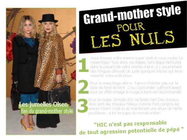 --HIC.sky presents: Le Grand-mother style pour les nuls  Tout pour adopter le style de mémé en 3 étapes!!(ironie quand tu nous tiens ;D). --