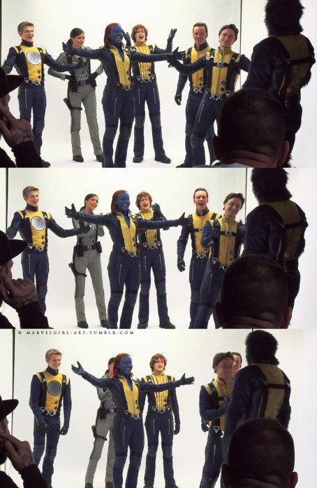 X-men first class photos