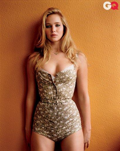 Jennifer pour GQ