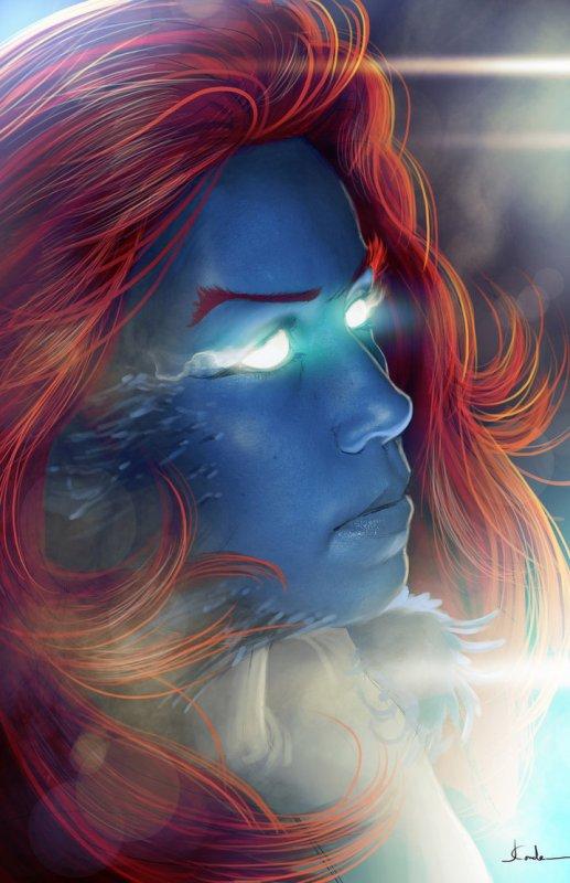 Magnifiques dessins de Mystique