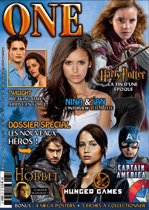 Interview dans le One Magazine